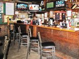 Devine's has two bars, an outdoor patio and 20 TV screens.  You won't a play of any game you're watching!